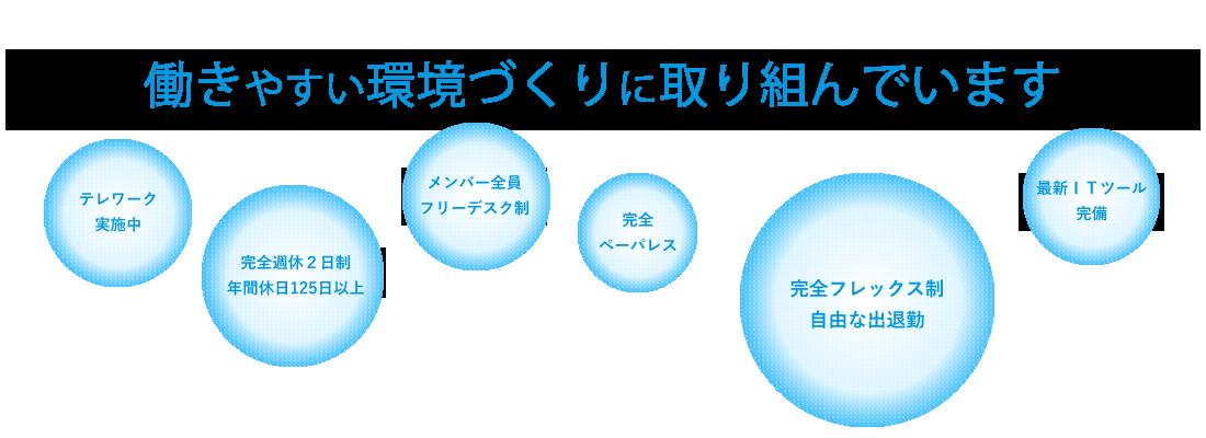 札幌の税理士 スズカ税理士法人は働きやすい環境づくりに取り組んでいます